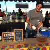 Ransom Distillery serving up their El Tigre gin punch at the Feast Portland Night Market