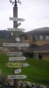 Abacela sign