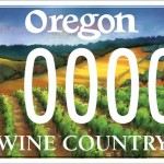 Oregon Wine Country license plates now available