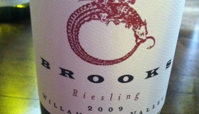 2009 Brooks Winery Riesling