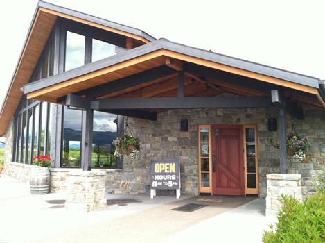 Mt Hood Winery entrance