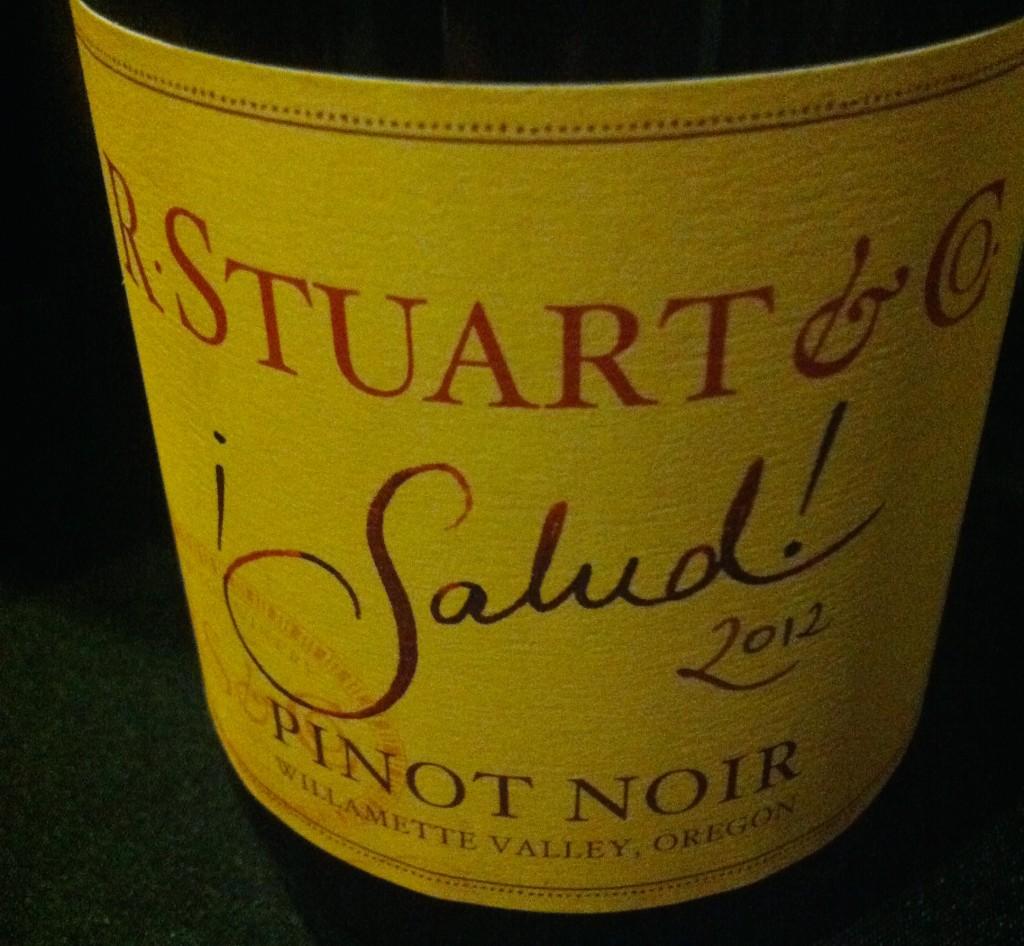 R Stuart ¡Salud! Pinot noir