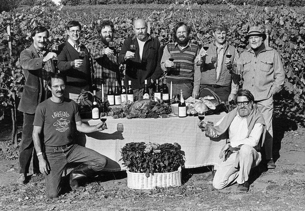 Pioneers of Oregon wine