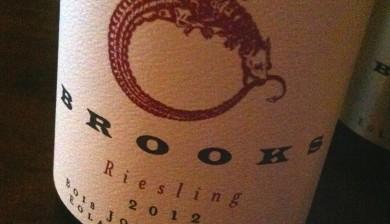 2012 Brooks Bois Joli Riesling