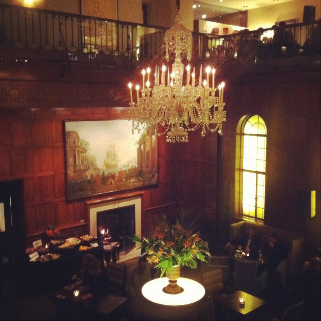 Beaujolais wines at the Heathman Hotel