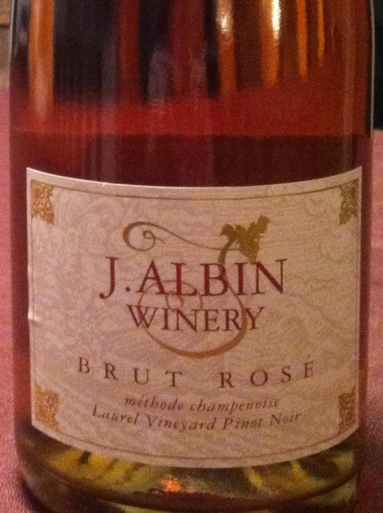 2007 J Albin Brut Rosé