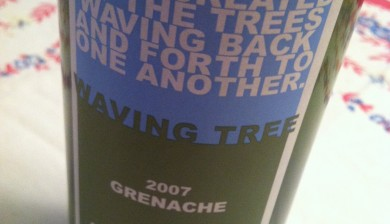 2007 Waving Tree Winery Grenache