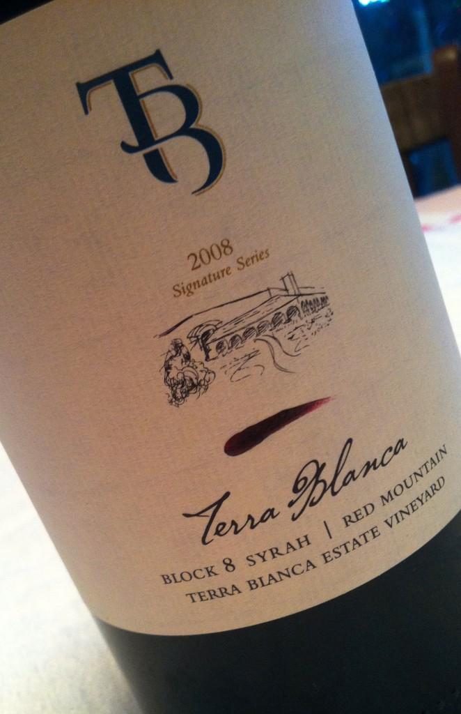 2008 Terra Blanca Block 8 Syrah
