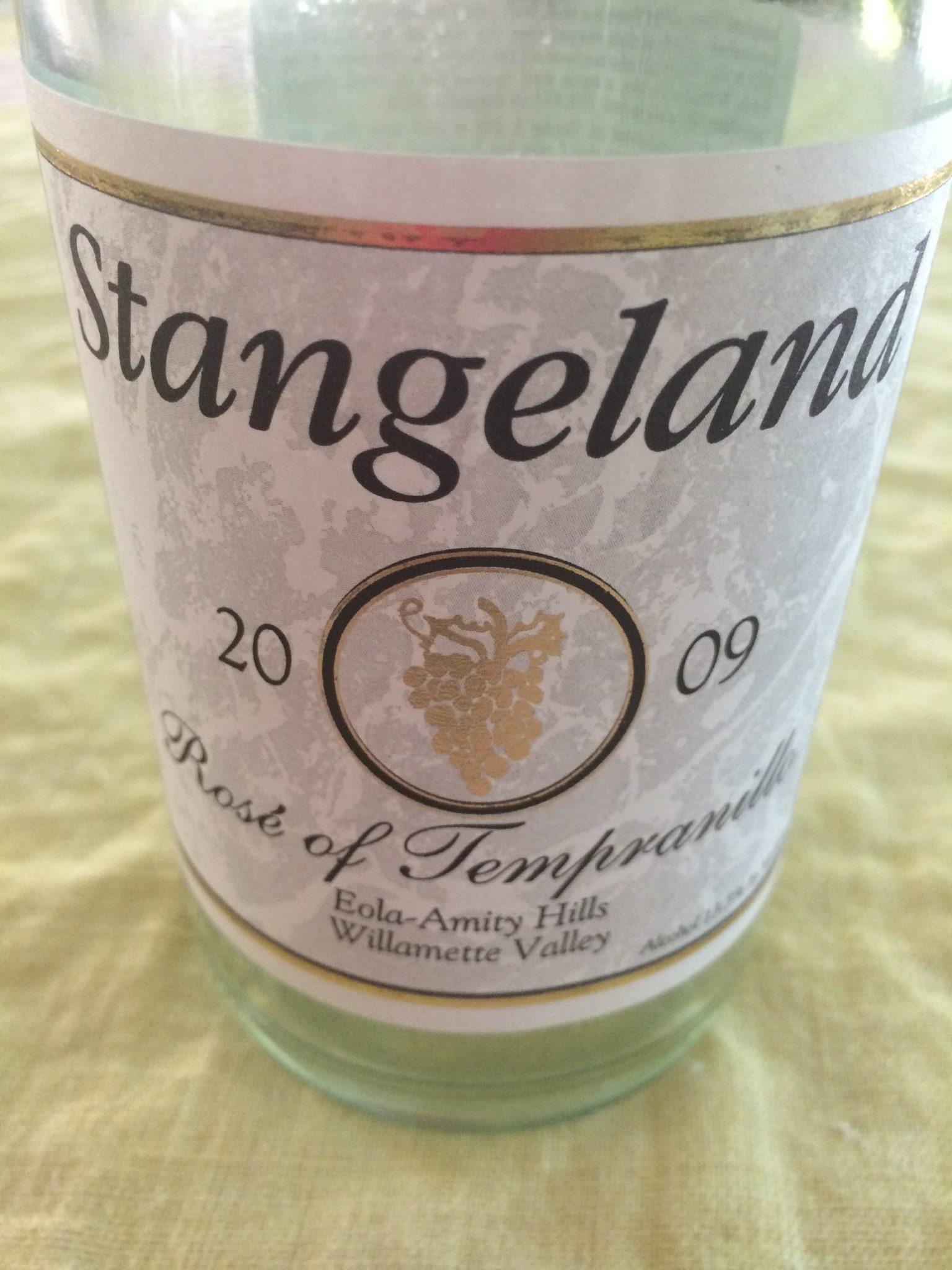 Summer of wine: 2009 Stangeland Rosé<span class=