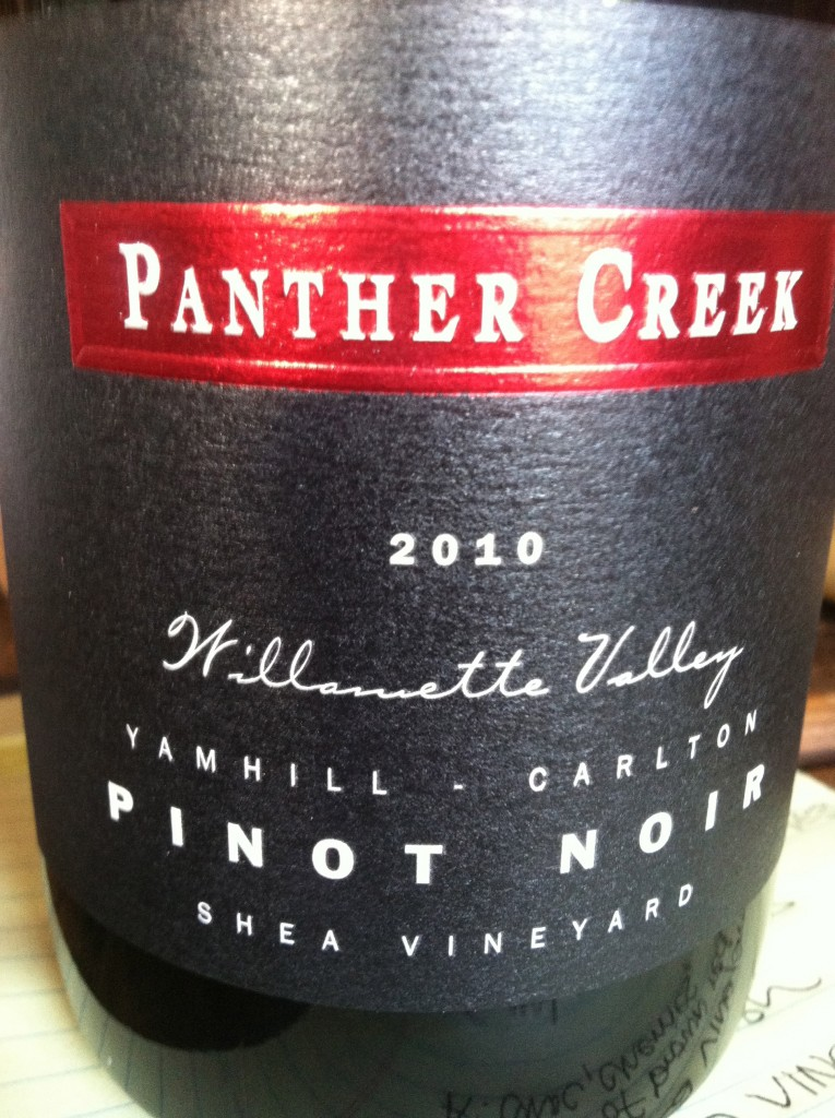 2010 Panther Creek Shea Pinot noir