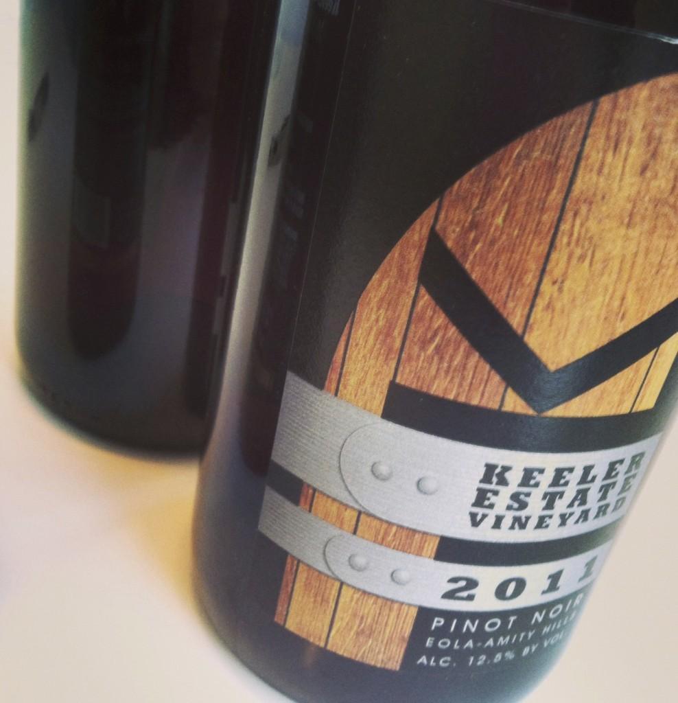 2011 Keeler Estate Pinot noir