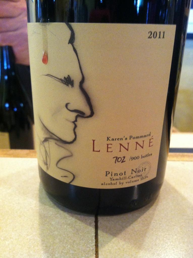 2011 Lenné Estate Karen's Pommard Pinot noir