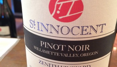2012 St Innocent Zenith Vineyard Pinot noir