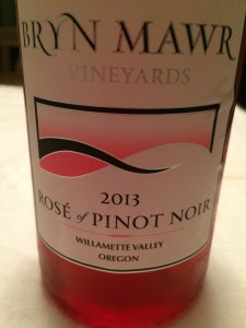 2013 Bryn Mawr Vineyards Rosé