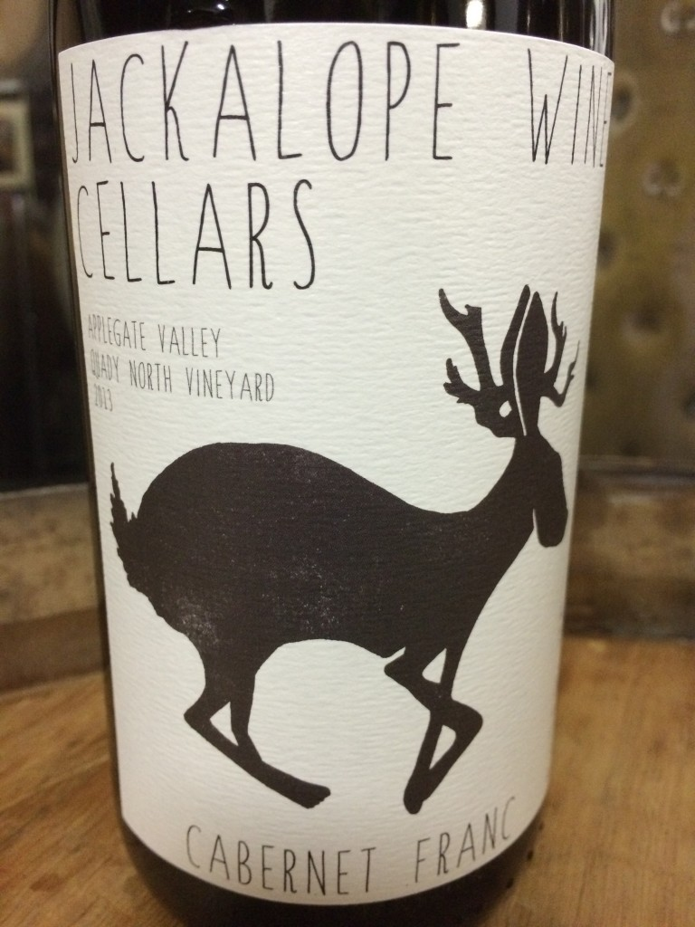 2013 Jackalope Wine Cellars Applegate Valley Quady North Vineyard Cabernet franc