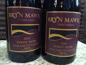 Bryn Mawr Vineyards Pinot noir