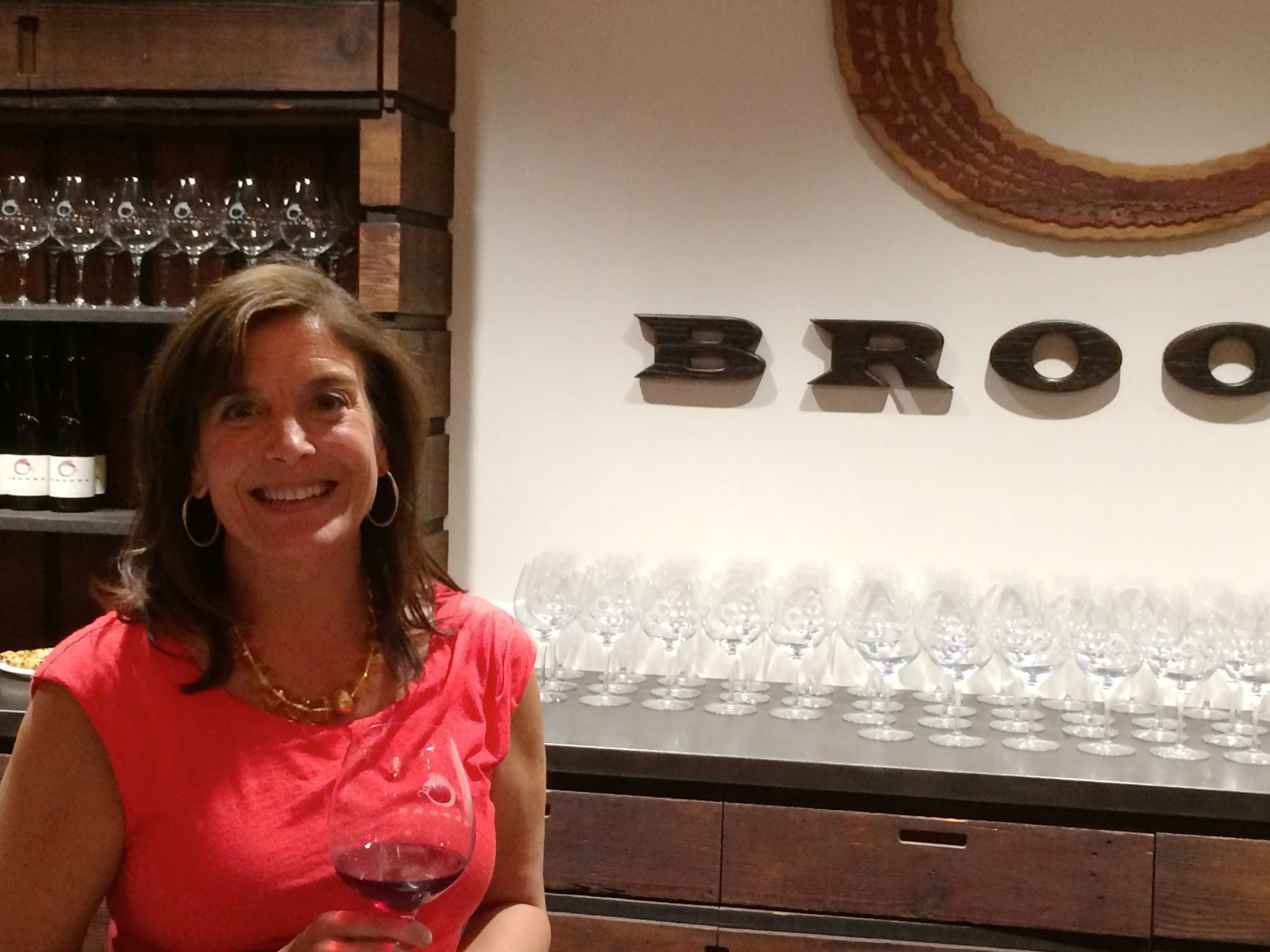Janie at Brooks Winery