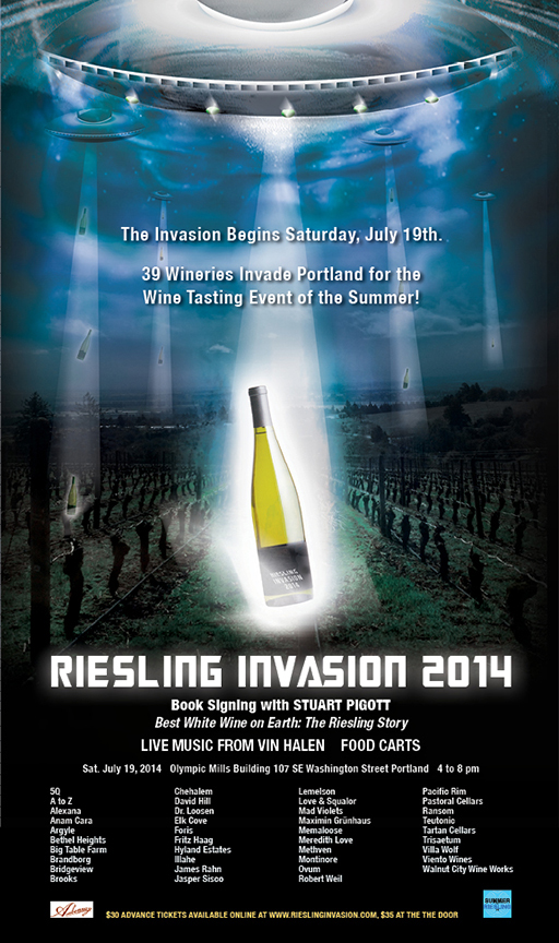Riesling wines are invading Portland this weekend<span class=