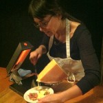 Reveling in the Raclette cheese at Cyril's