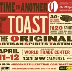 Portland's TOAST 2014: Come sip artisan distilled spirits