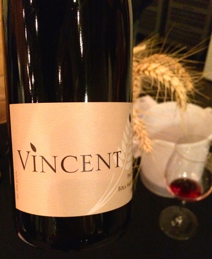 2013 Vincent Wines Eola-Amity Hills Pinot noir