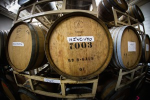Jackalope Wine Cellars barrels