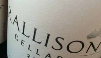 2014 Rallison Cellars Pinot gris