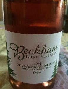 2014 Beckham Estate Vineyard rosé