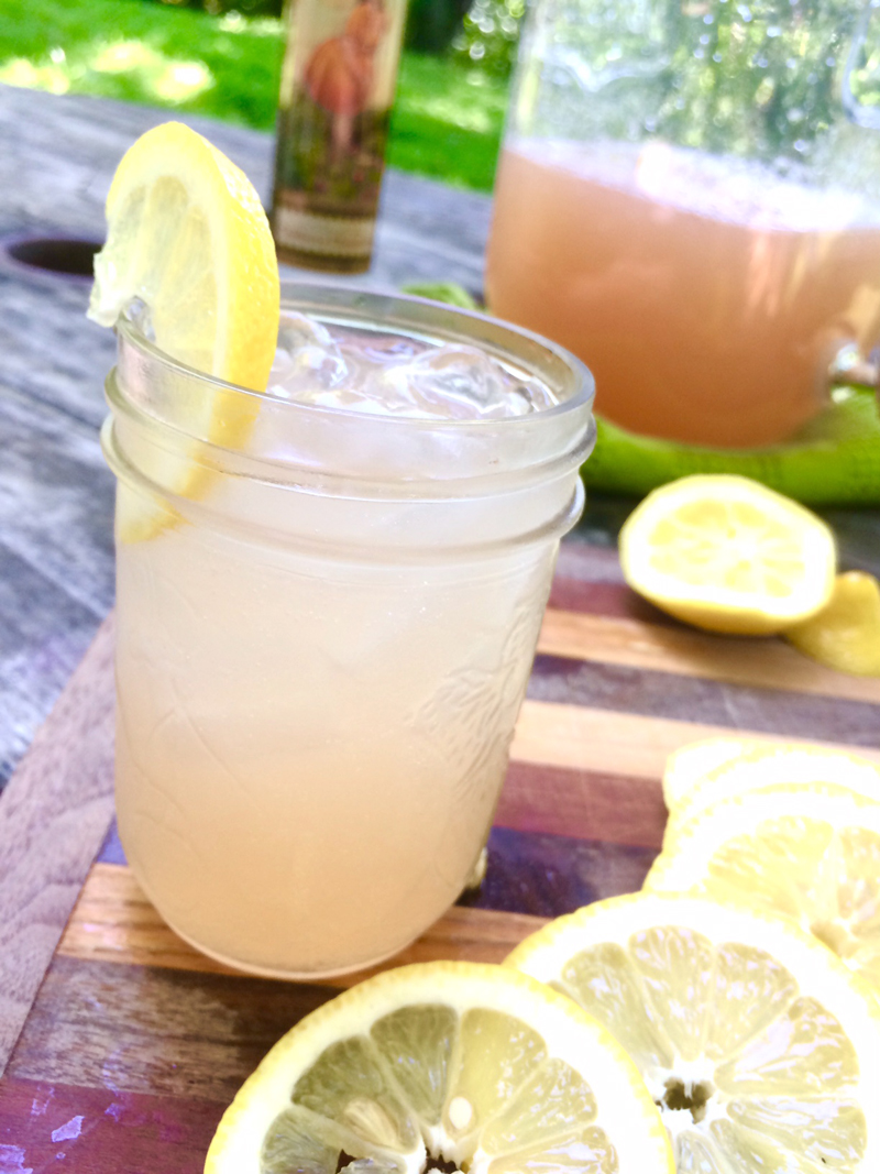 The perfect summertime Sunshine Punch cocktail recipe<span class=