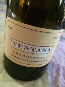 2013 Ventana Estate Chardonnay