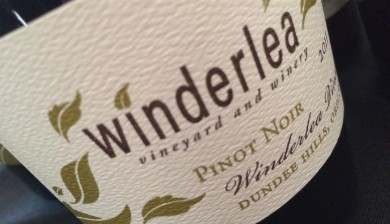 2011 Winderlea Vineyard Pinot noir