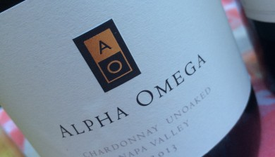 2013 Alpha Omega Unoaked Chardonnay