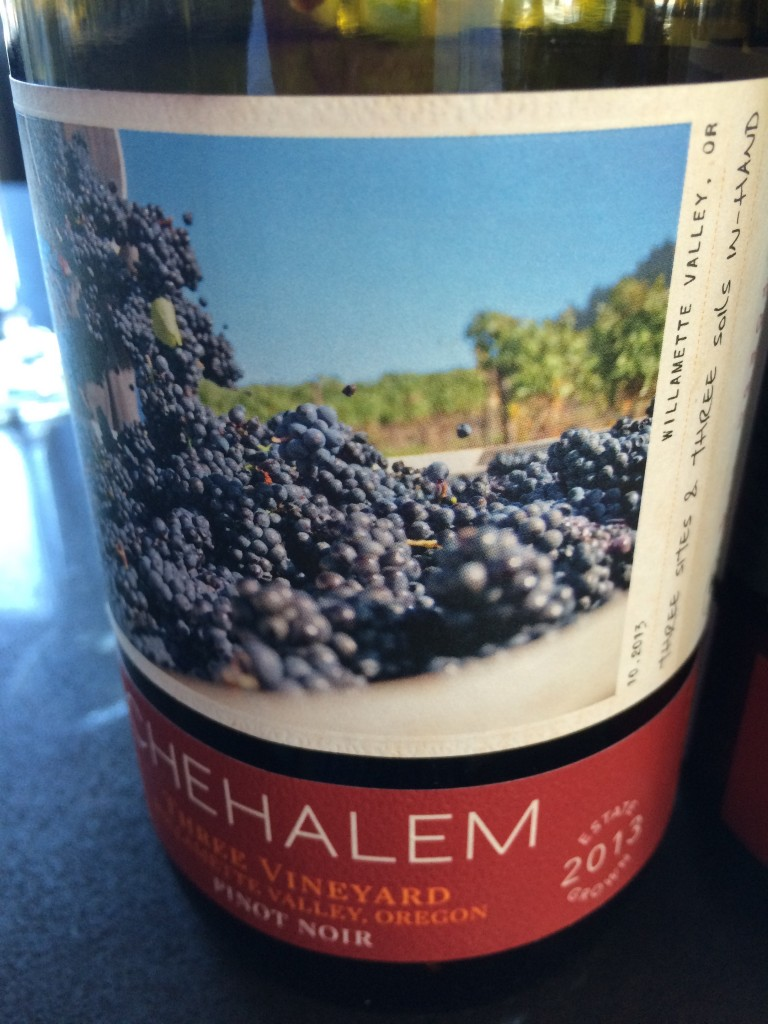 2013 Chehalem Wines Three Vineyard Pinot noir