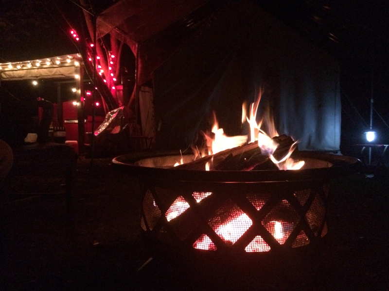 Camp Heaven firepit