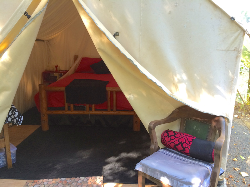 Glamping and wine tasting in Oregon's Willamette Valley