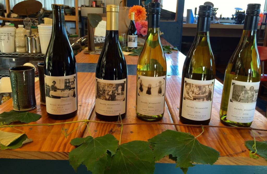 2014 Woven Wineworks Estate Pinot gris