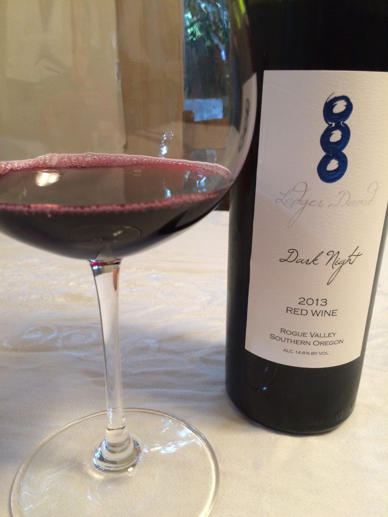 2013 Ledger David Dark Night Red Wine