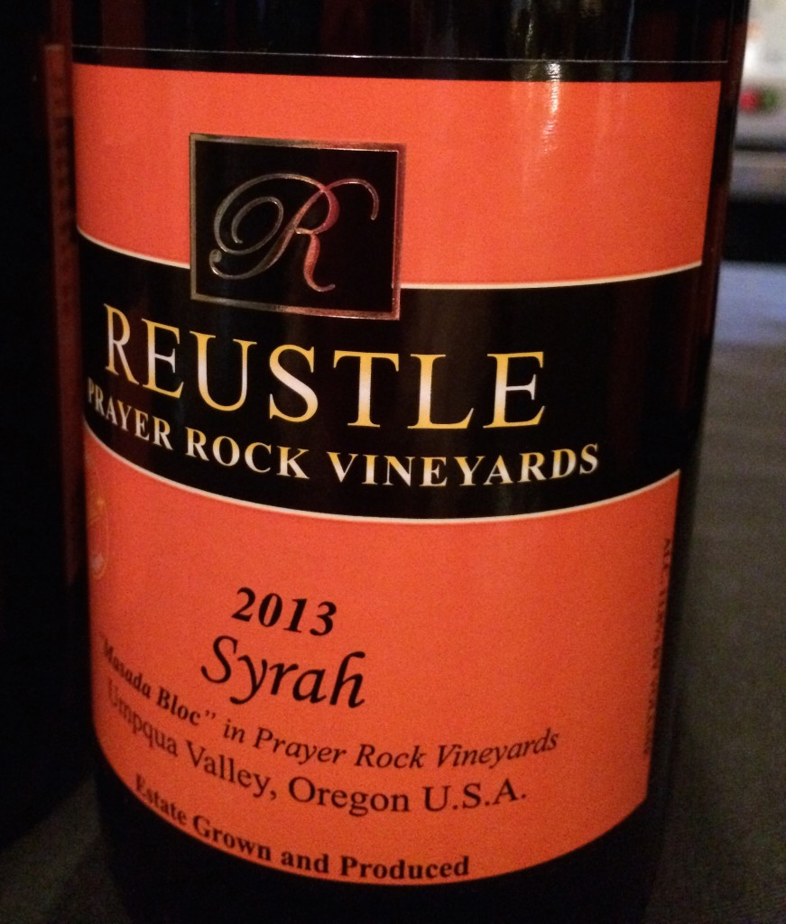 2013 Reustle Vineyards Masada Bloc Syrah