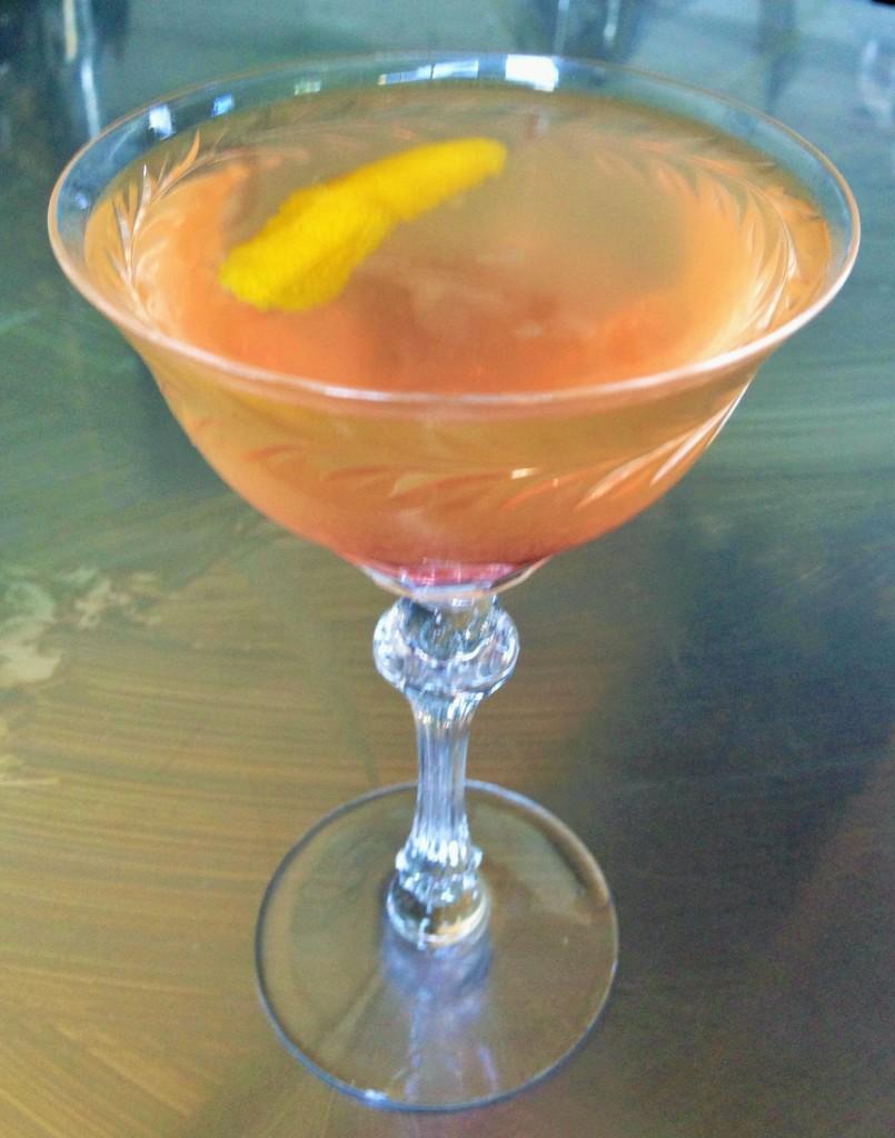 Stone Barn Brandyworks Picard Sour Cocktail