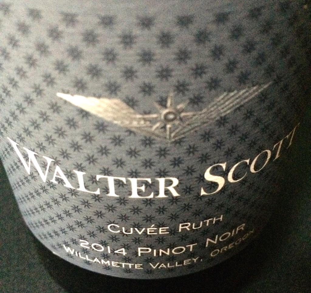 2014 Walter Scott Cuveé Ruth Pinot noir