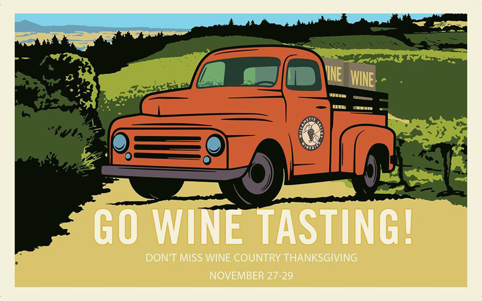 Visit Oregon wineries this Thanksgiving holiday weekend