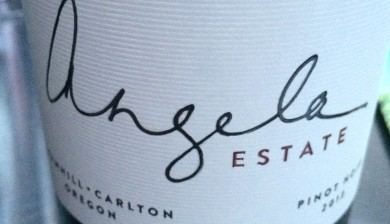 2013 Angela Estate Pinot noir