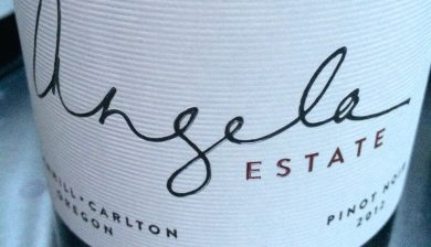 2012 Angela Estate Pinot noir