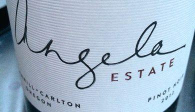 2012 Angela Estate Pinot noir