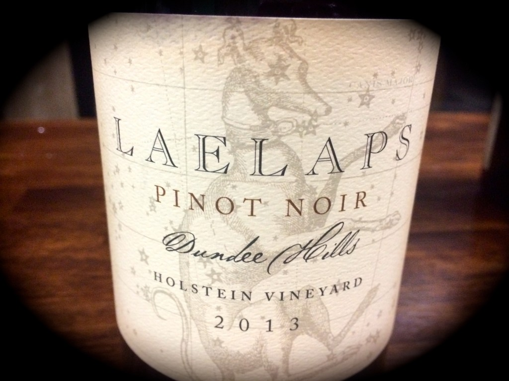 2013 Laelaps Pinot noir