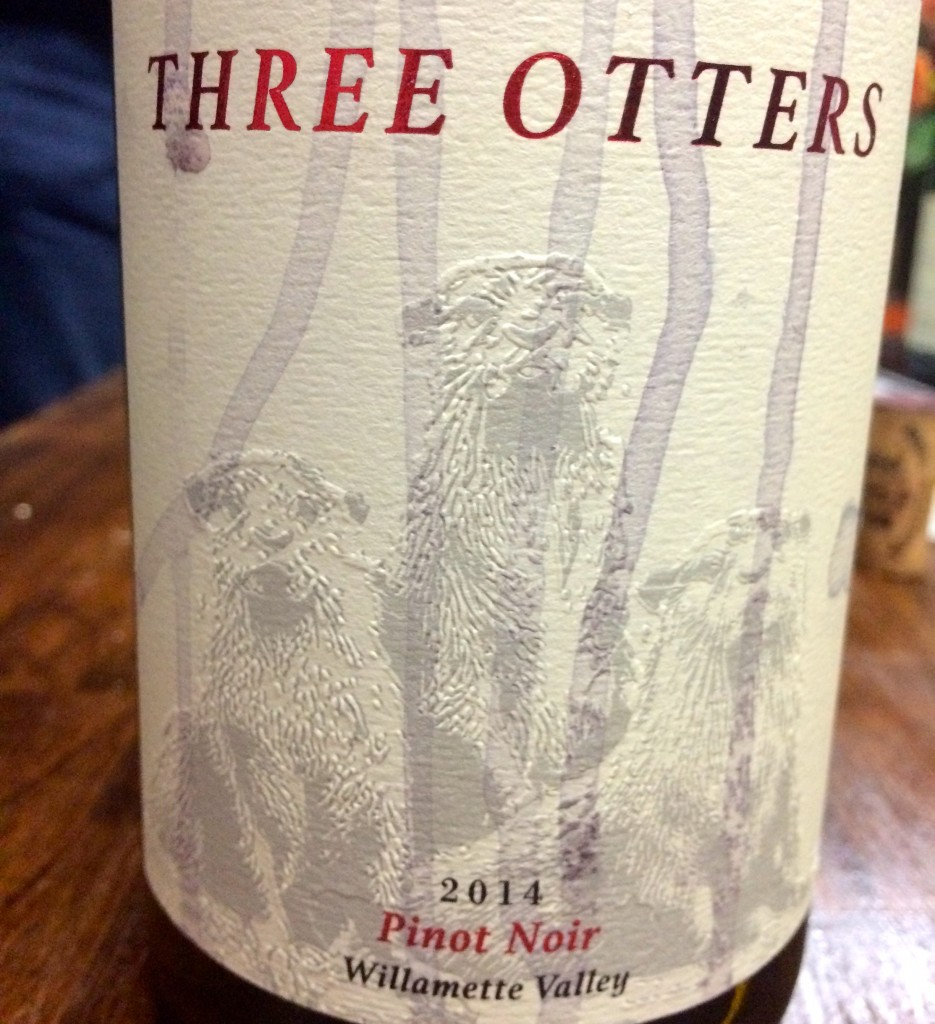 2014 Three Otters Pinot noir