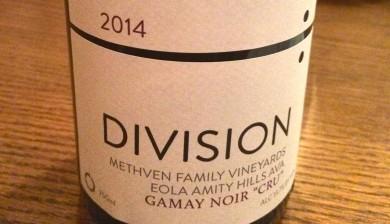 2014 Division Gamay noir Cru