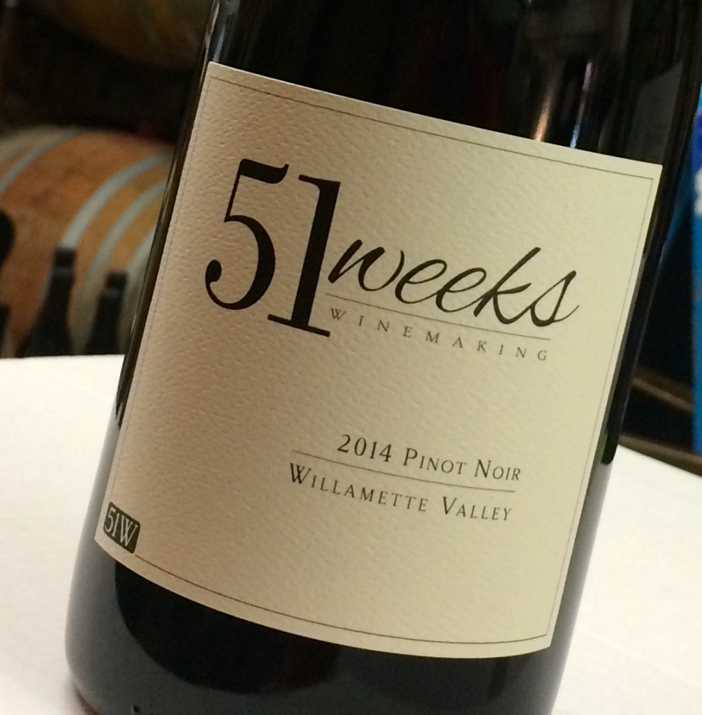 2014 51 Weeks Winemaking Pinot noir