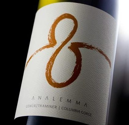 2012 Analemma Wines Gewürztraminer
