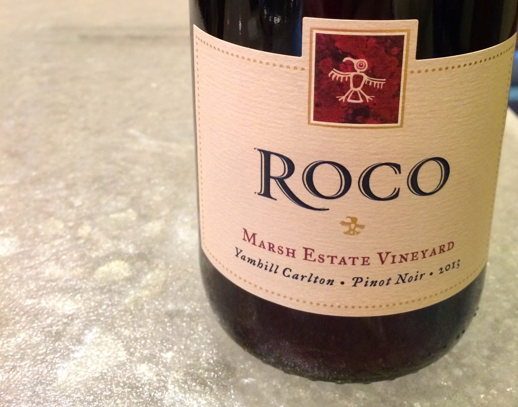2013 ROCO Winery Marsh Estate Pinot noir